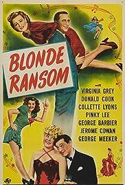 Blonde Ransom Poster