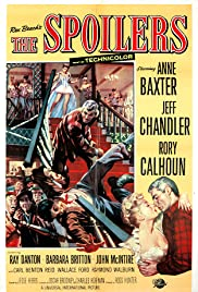 The Spoilers (1955) Poster - Movie Forum, Cast, Reviews