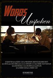 Words Unspoken Poster