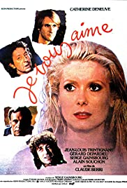 Je vous aime (1980) Poster - Movie Forum, Cast, Reviews