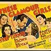 Lew Ayres, Lana Turner, Jane Bryan, Marsha Hunt, and Anita Louise in These Glamour Girls (1939)