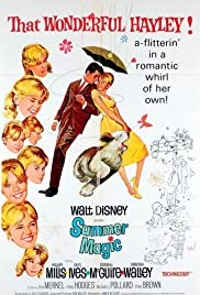 Summer Magic (1963) Poster - Movie Forum, Cast, Reviews