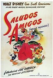 Saludos Amigos(1942) Poster - Movie Forum, Cast, Reviews