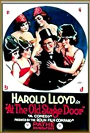 At the Old Stage Door Poster