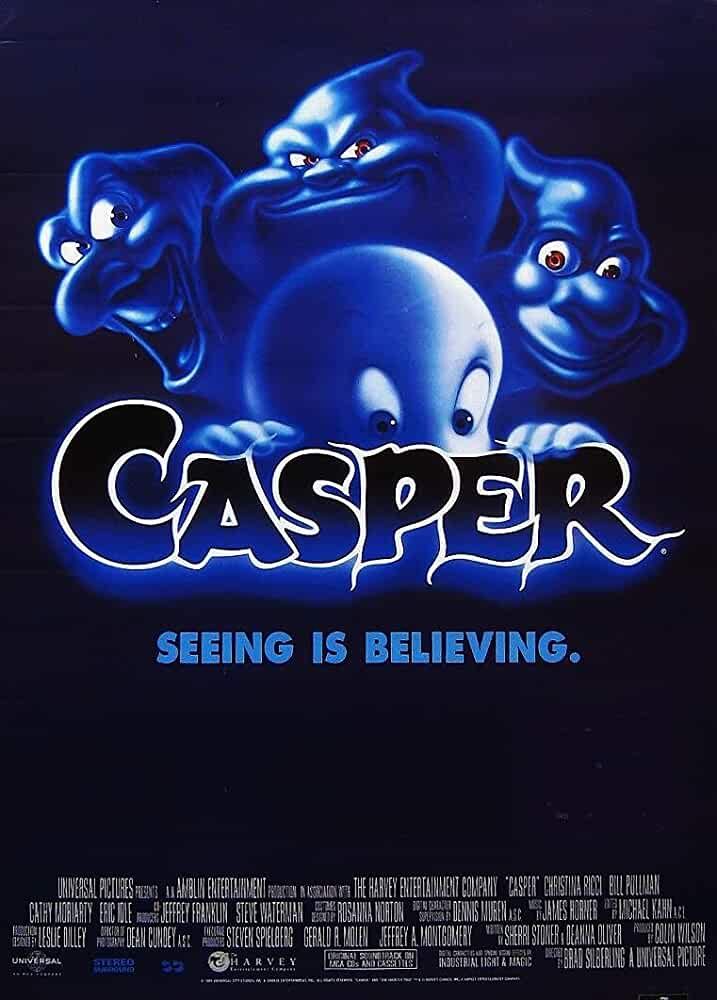 Casper 1995 Hindi Dual Audio 480p BRRip full movie watch online freee download at movies365.cc