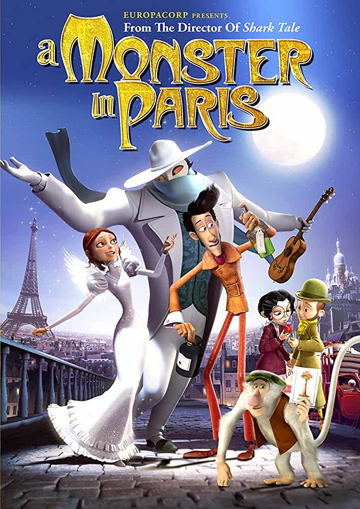 A Monster In Paris 2011 Dual Audio Hindi 720p BluRay full movie watch online freee download at movies365.org