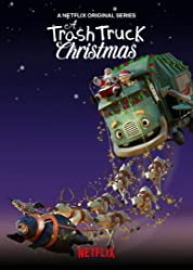 A Trash Truck Christmas (2020) poster