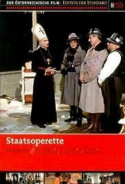 Staatsoperette Poster