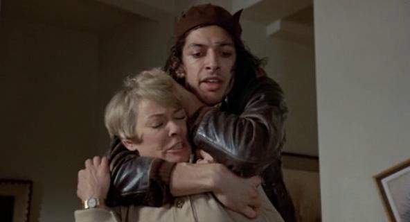 Jeff Goldblum and Hope Lange in Death Wish [1974)