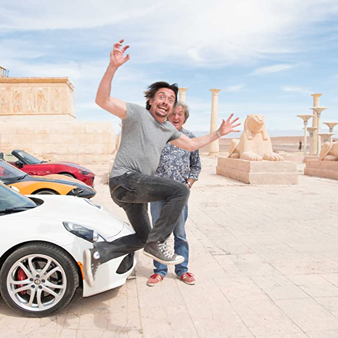 James May and Richard Hammond in The Grand Tour (2016)