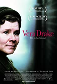 Vera Drake (2004) Poster - Movie Forum, Cast, Reviews