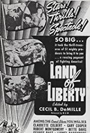 Land of Liberty (1939) Poster - Movie Forum, Cast, Reviews