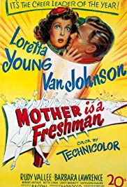 Mother Is a Freshman Poster