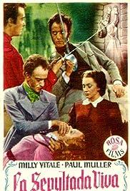 La sepolta viva Poster