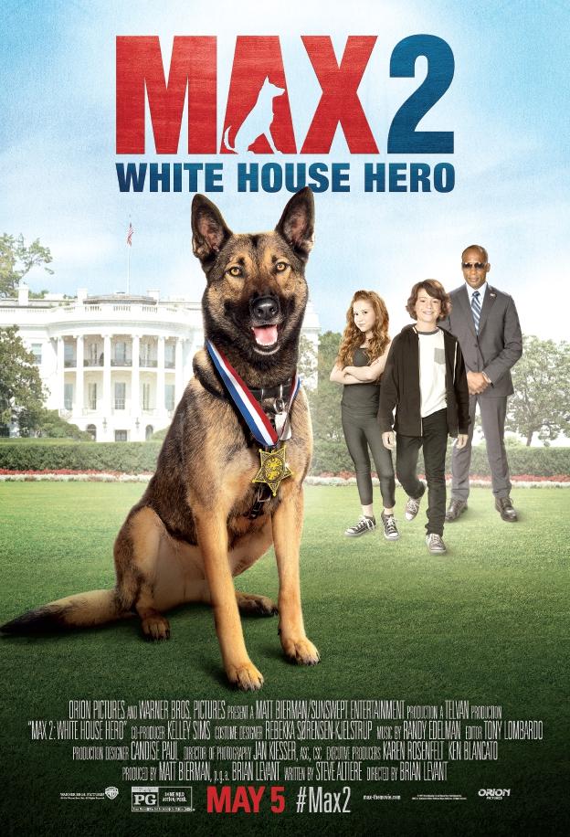 فيلم MAX 2 WHITE HOUSE HERO 2017 مترجم