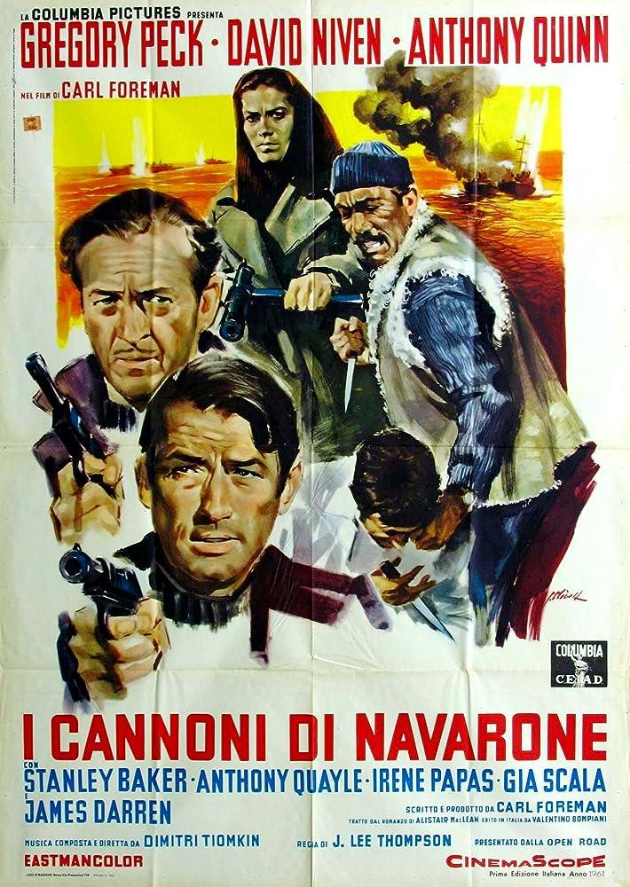 The Guns of Navarone – Tunurile din Navarone, film online HD subtitrat în Română