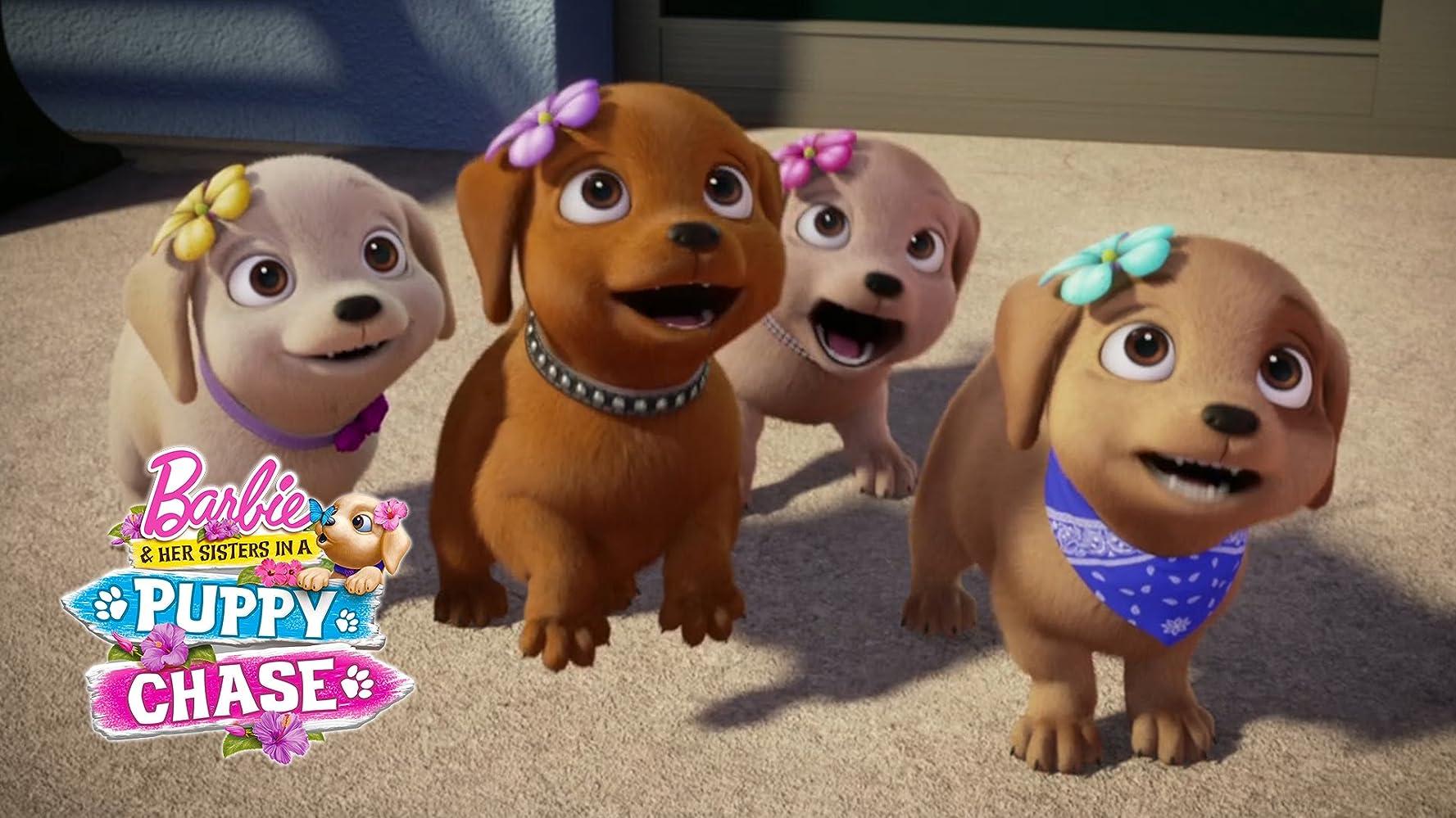 Ver Barbie y sus hermanas: En la búsqueda de perritos (2016) online GRATIS