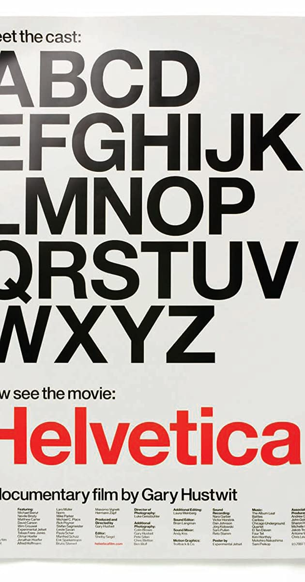 Helvetica (2007) - IMDb