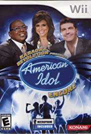 Karaoke Revolution Presents: American Idol Encore Poster