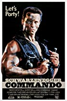 Commando (1985) Poster