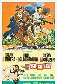 Never So Few(1959) Poster - Movie Forum, Cast, Reviews