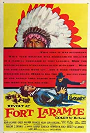 Revolt at Fort Laramie Poster