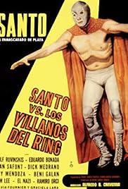 Santo el enmascarado de plata vs los villanos del ring Poster