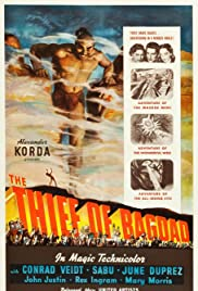 The Thief of Bagdad (1940) Poster - Movie Forum, Cast, Reviews