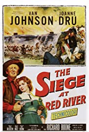 Siege at Red River (1954) Poster - Movie Forum, Cast, Reviews