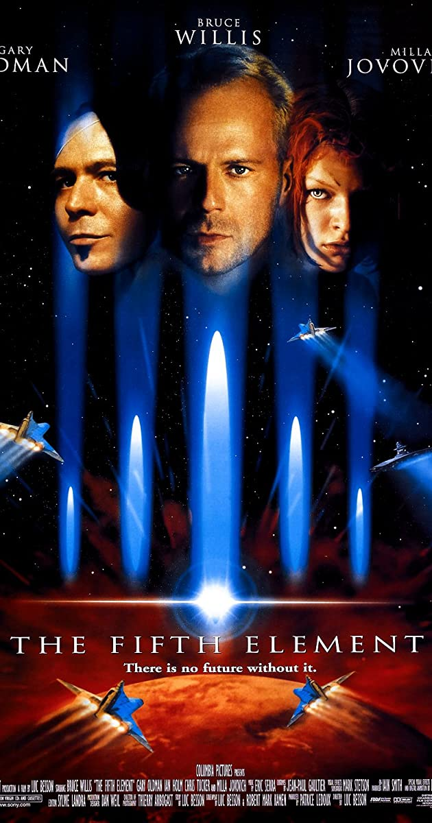 the fifth element trivia imdb