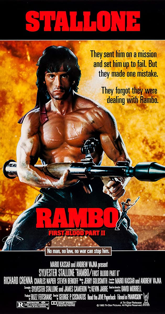 Rembo: Pirmasis kraujas 2 / Rambo: First Blood Part II (1985) Online