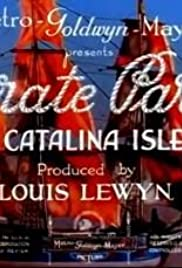 Pirate Party on Catalina Isle Poster
