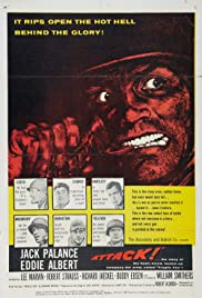 Attack (1956) Poster - Movie Forum, Cast, Reviews
