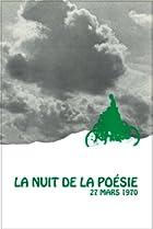 Image of La nuit de la poésie 27 mars 1970