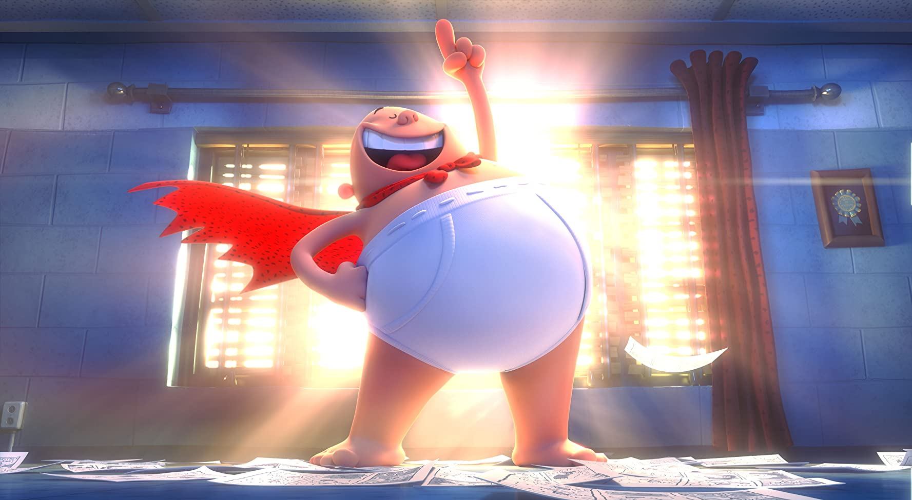 Captain Underpants: The First Epic Movie (2017), Watch Online