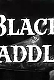 Black Saddle Poster