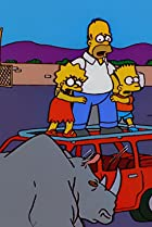 Image of The Simpsons: Marge Simpson in 'Screaming Yellow Honkers'