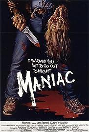 Maniac(1980) Poster - Movie Forum, Cast, Reviews