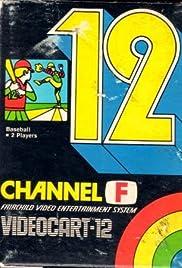 Videocart-12: Baseball Poster