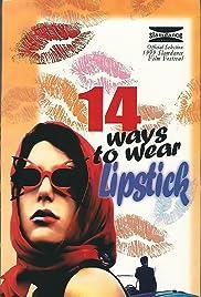 14 Ways to Wear Lipstick Poster