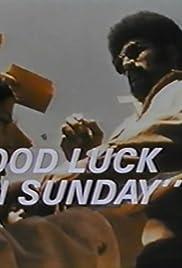 Franco Harris: Good Luck on Sunday Poster