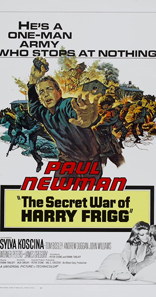 The Secret War of Harry Frigg The Secret War of Harry Frigg 1968 IMDb