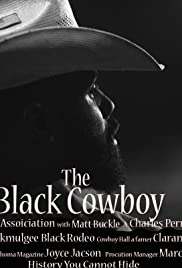 The Black Cowboy Poster