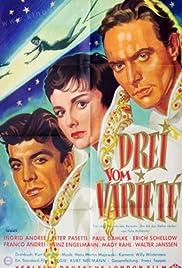 Drei vom Varieté Poster