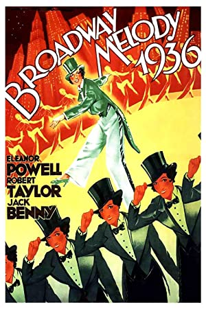 Poster Broadway-Melodie 1936