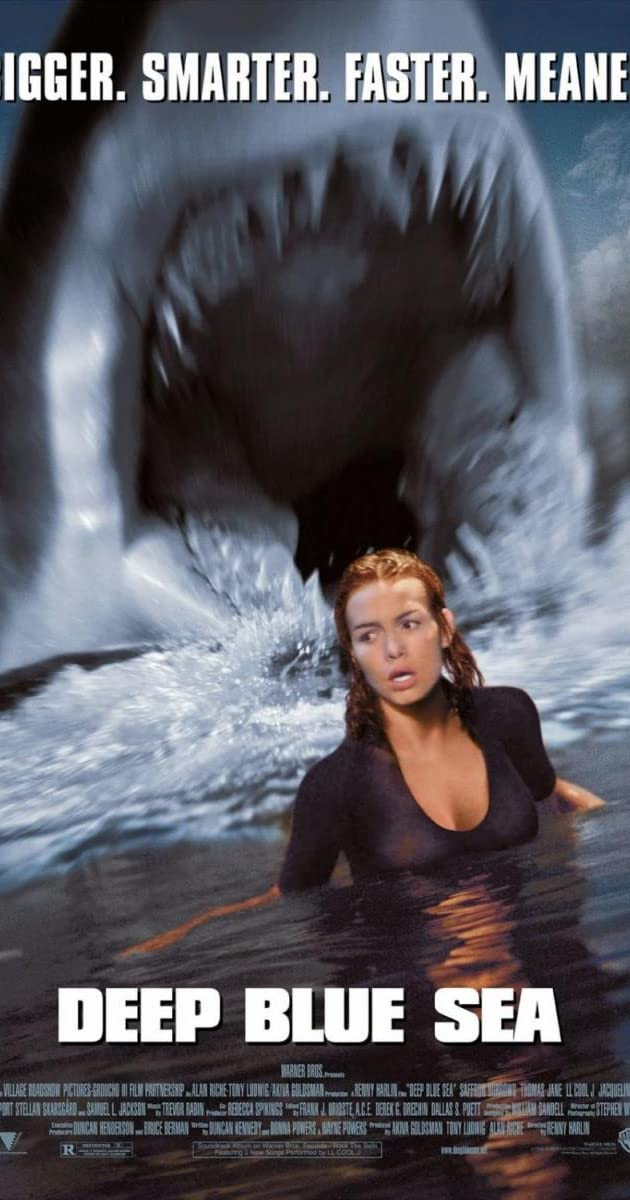 Gili žydra jūra / Deep Blue Sea (1999) Online