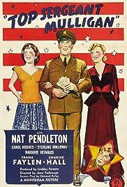 Top Sergeant Mulligan Poster