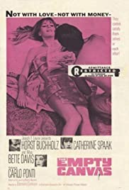 The Empty Canvas (1963) Poster - Movie Forum, Cast, Reviews