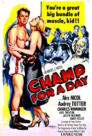 Champ for a Day Poster
