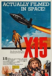 X-15 (1961) Poster - Movie Forum, Cast, Reviews